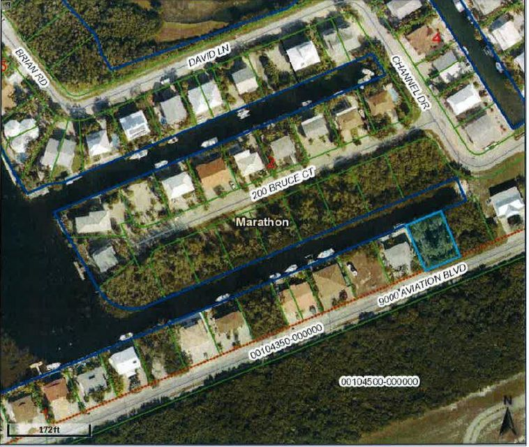 Terrain pour l Vente à BK 1 LT 28 SEA-AIR ESTATES Marathon, Florida 33050 États-Unis