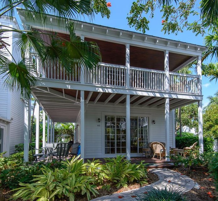 Maison unifamiliale pour l Vente à 63 Sunset Key Drive 63 Sunset Key Drive Key West, Florida 33040 États-Unis