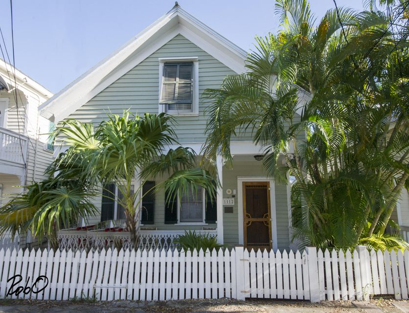 Maison unifamiliale pour l Vente à 1112 Elgin Lane Key West, Florida 33040 États-Unis
