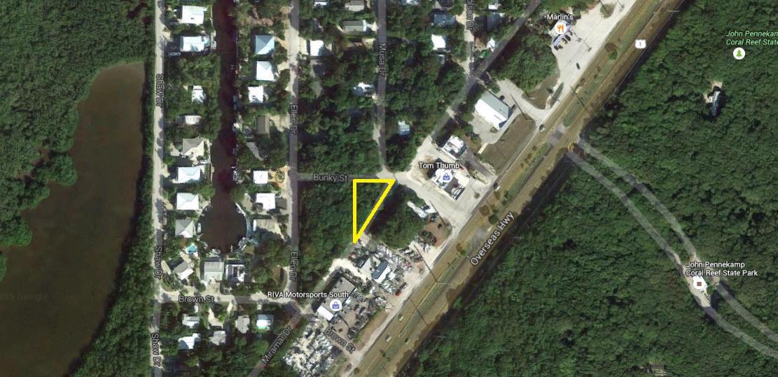 Terreno per Vendita alle ore Bunky Street Bunky Street Key Largo, Florida 33037 Stati Uniti