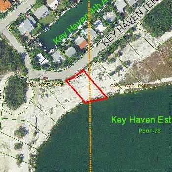Terreno por un Venta en 4 Key Haven Terrace 4 Key Haven Terrace Key Haven, Florida 33040 Estados Unidos