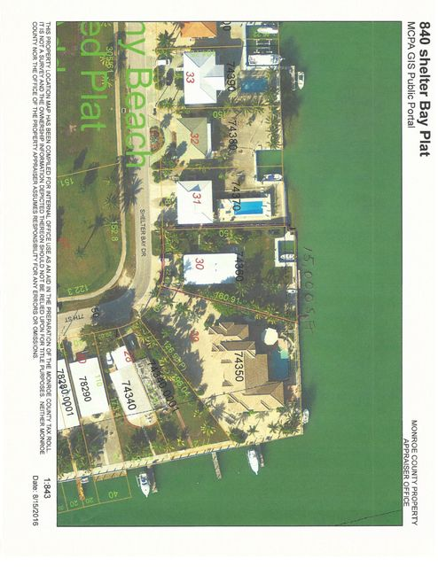 Additional photo for property listing at 840 Shelter Bay Drive 840 Shelter Bay Drive Key Colony, 佛罗里达州 33051 美国