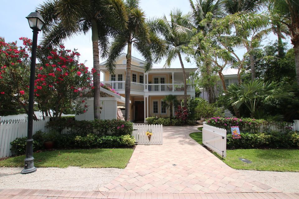 Casa Unifamiliar por un Venta en 23 Sunset Key Drive Key West, Florida 33040 Estados Unidos