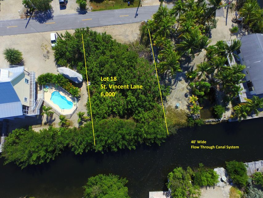 Additional photo for property listing at Lot 18 St Vincent Lane Lot 18 St Vincent Lane Ramrod Key, Florida 33042 États-Unis