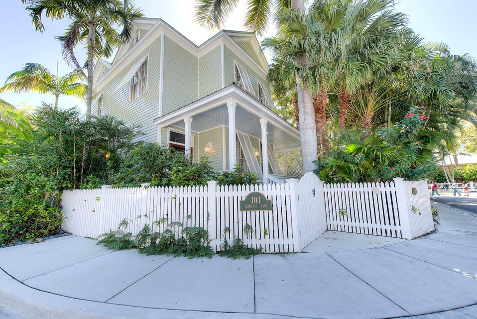 Casa Unifamiliar por un Venta en 101 Admirals Lane Key West, Florida 33040 Estados Unidos