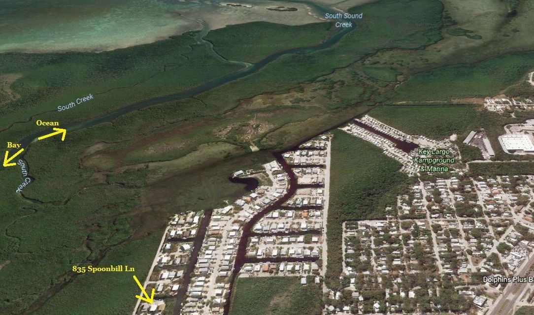 獨棟家庭住宅 為 出售 在 835 Spoonbill Lane 835 Spoonbill Lane Key Largo, 佛羅里達州 33037 美國