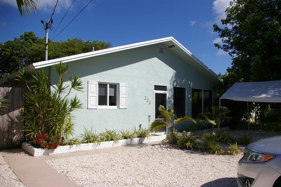 Maison unifamiliale pour l à louer à 223 Hibiscus Street Islamorada, Florida 33070 États-Unis