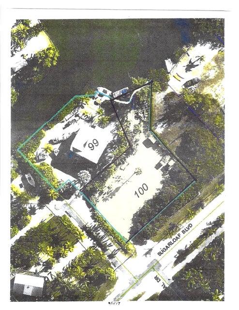Terreno por un Venta en 1551 Coral Court 1551 Coral Court Sugarloaf, Florida 33042 Estados Unidos