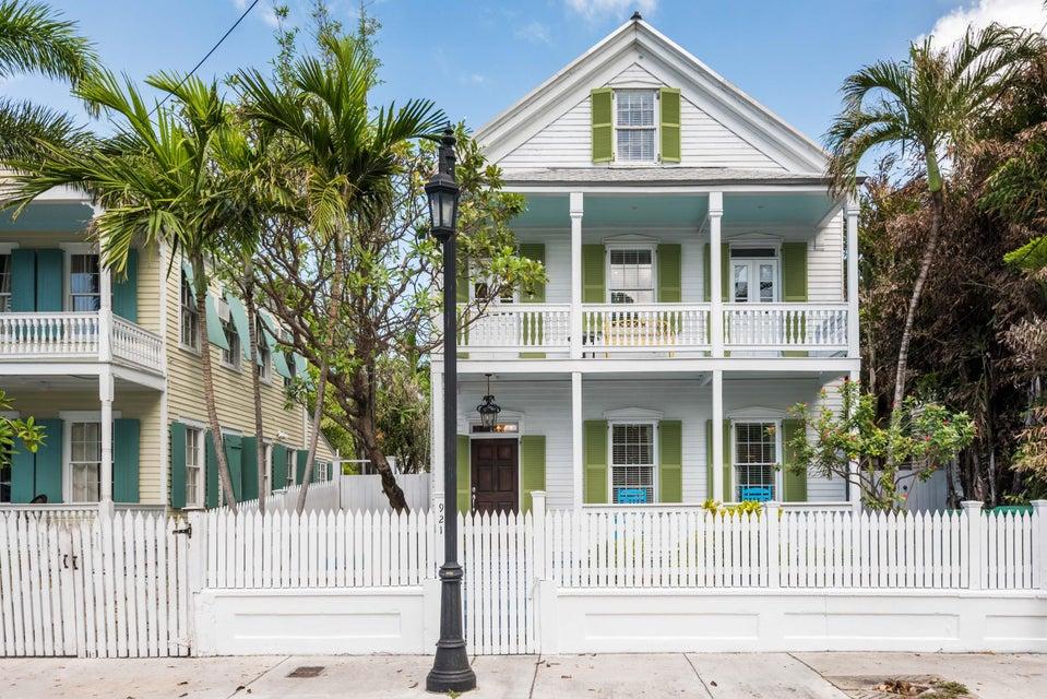 Casa Unifamiliar por un Venta en 921 Whitehead Street 921 Whitehead Street Key West, Florida 33040 Estados Unidos