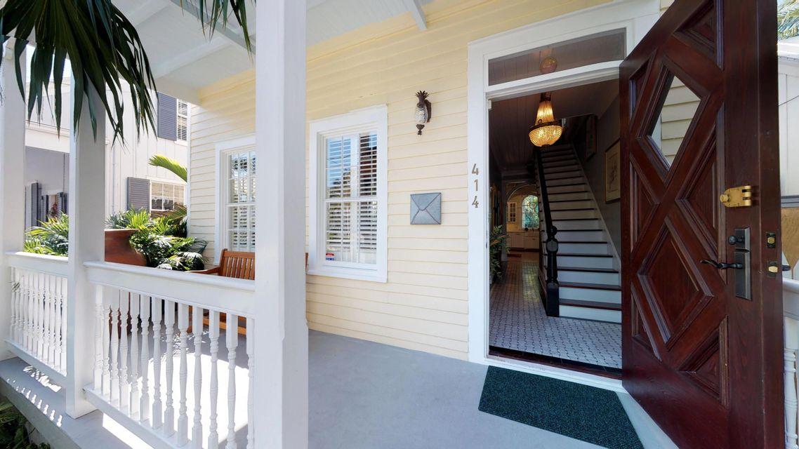 Maison unifamiliale pour l Vente à 414 William Street 414 William Street Key West, Florida 33040 États-Unis