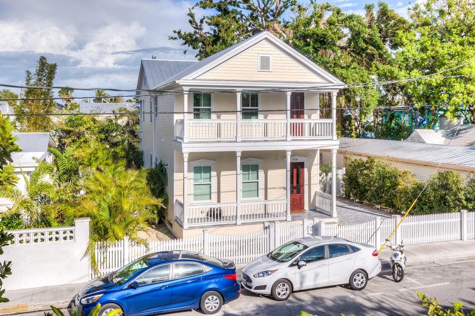 Single Family Home for Sale at 719 Thomas Street 719 Thomas Street Key West, Florida 33040 United States