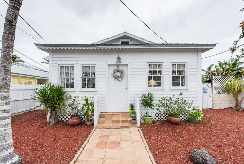 Casa Unifamiliar por un Venta en 1219 William Street 1219 William Street Key West, Florida 33040 Estados Unidos