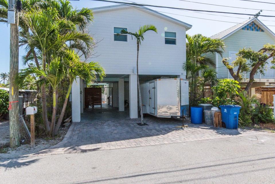 Enfamiljshus för Försäljning vid 81 Palm Drive 81 Palm Drive Saddlebunch, Florida 33040 Usa