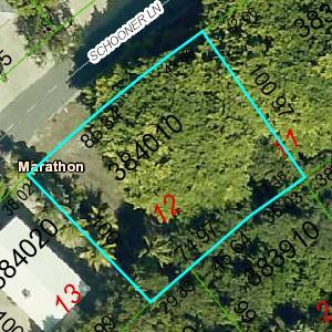 土地 のために 売買 アット 223 Schooner Lane 223 Schooner Lane Duck Key, フロリダ 33050 アメリカ合衆国