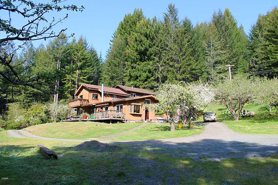 独户住宅 为 销售 在 24300 Ramsey Ridge Road 24300 Ramsey Ridge Road Fort Bragg, 加利福尼亚州 95437 美国