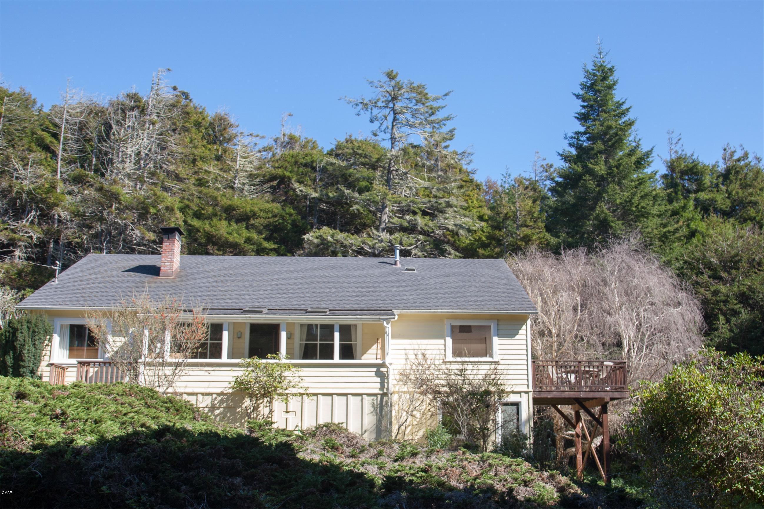 独户住宅 为 销售 在 44561 Gordon Lane 44561 Gordon Lane Mendocino, 加利福尼亚州 95460 美国