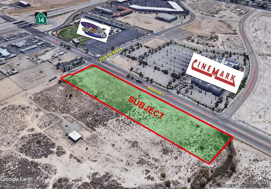 NW Nwc Ave I & 25tth St West, Lancaster, California