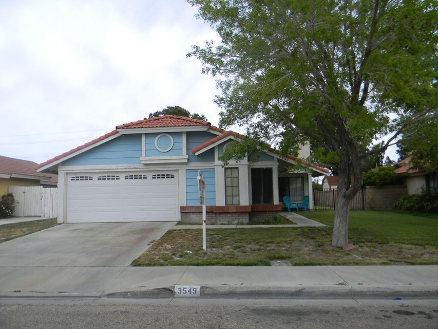 3549 W Avenue K1, Lancaster in Los Angeles County, CA 93536 Home for Sale