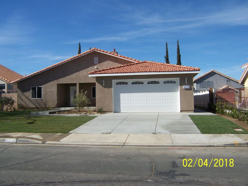 43725  Byron Drive, Lancaster in Los Angeles County, CA 93535 Home for Sale