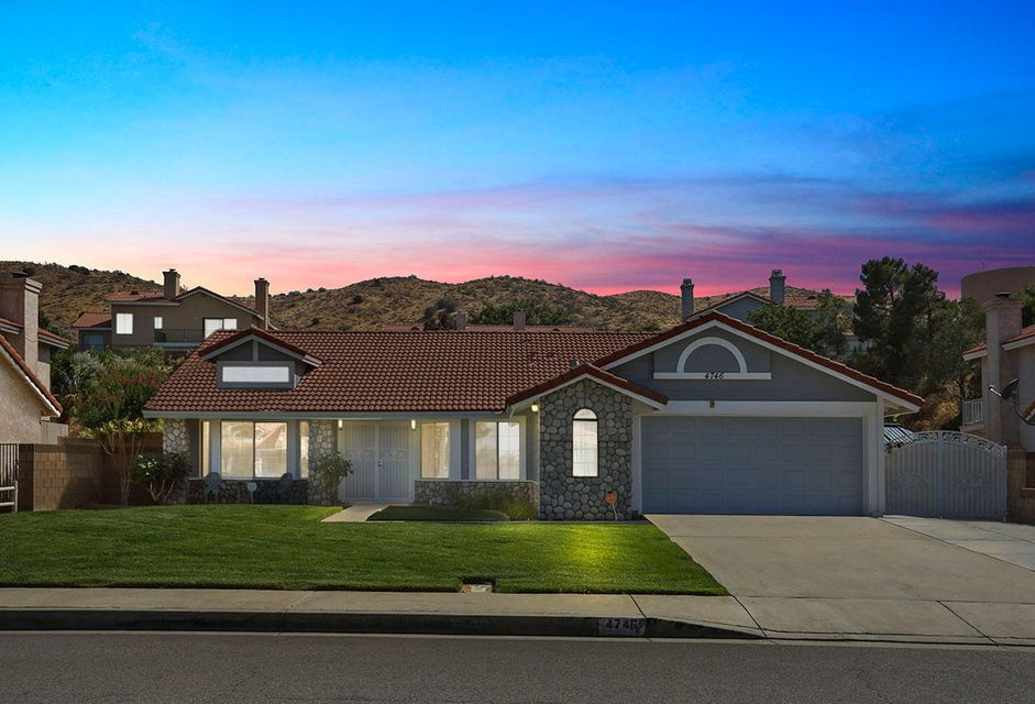 4746  Grandview Drive, Palmdale in Los Angeles County, CA 93551 Home for Sale