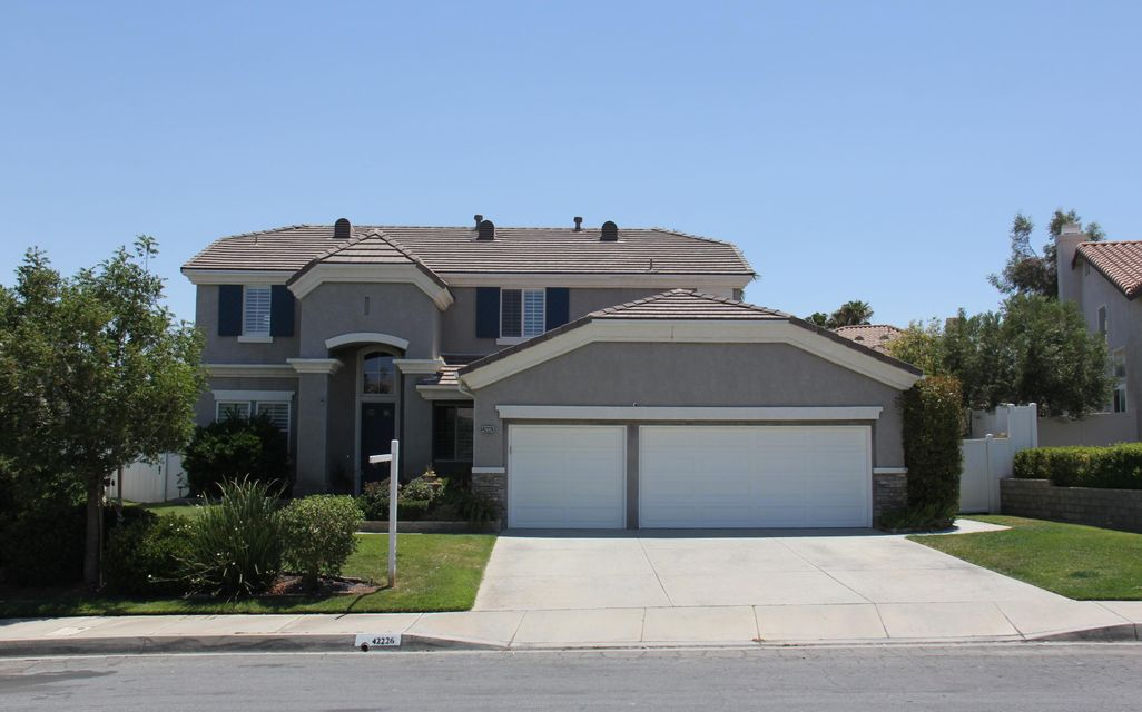 42226  Sunnyslope Drive 93536 - One of Lancaster Homes for Sale