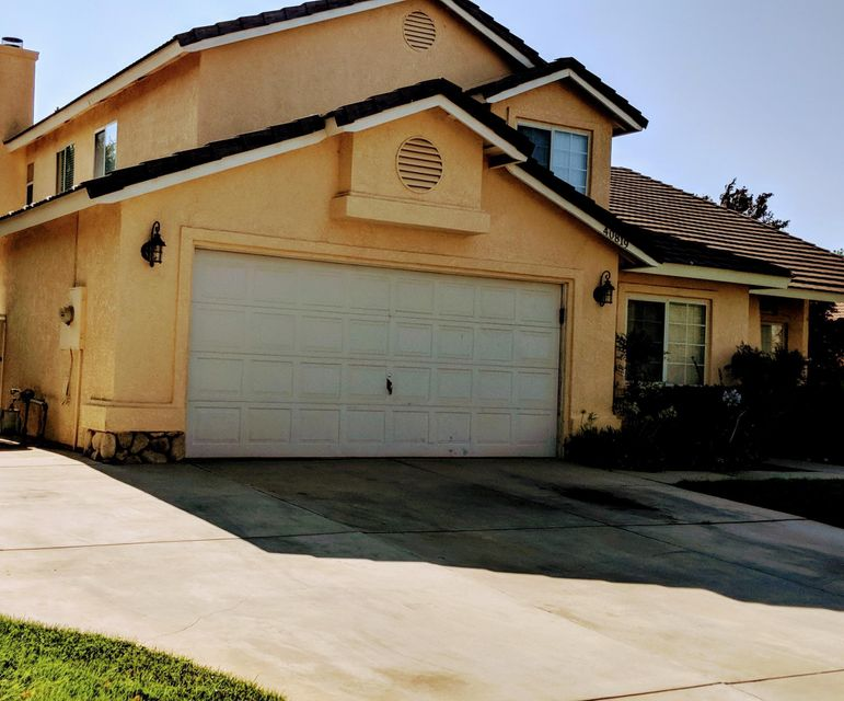 40819  Granite Street, Palmdale in Los Angeles County, CA 93551 Home for Sale