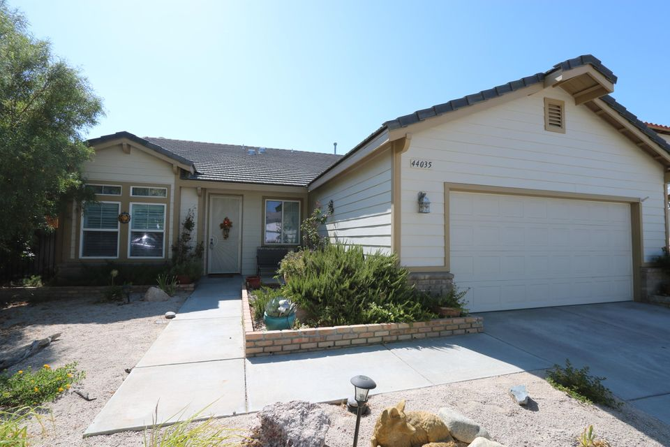 44035  Chaparral Drive, Lancaster in Los Angeles County, CA 93536 Home for Sale