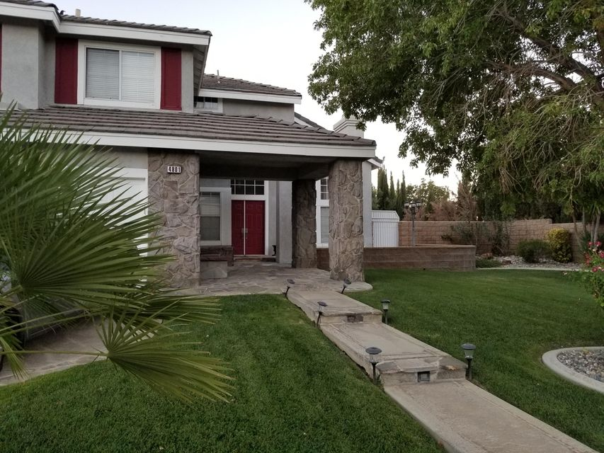 4801  Cinnabar Avenue, Palmdale in Los Angeles County, CA 93551 Home for Sale