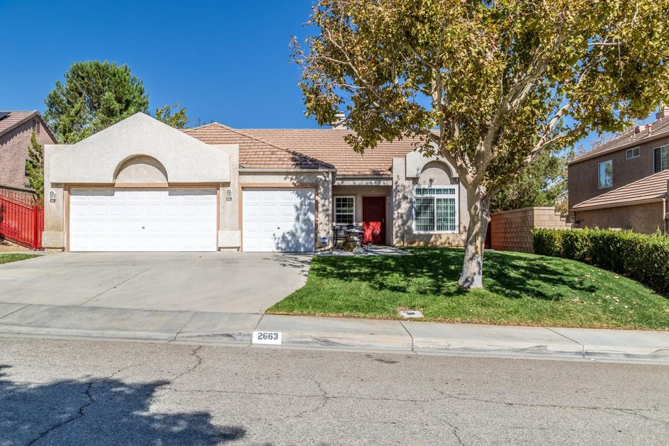2663  Cloverdale Court, Palmdale in Los Angeles County, CA 93551 Home for Sale