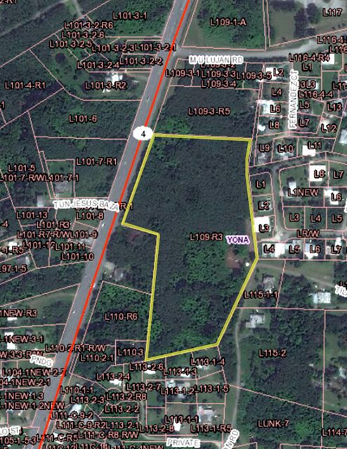 土地 / 的地塊 為 出售 在 Route 4 Yona, 關島 96915