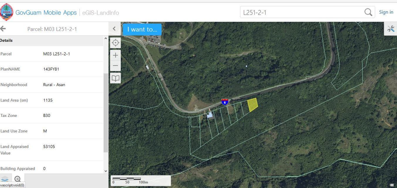 Land / Lots for Sale at Rt. 6 Rt. 6 Asan, Guam 96910