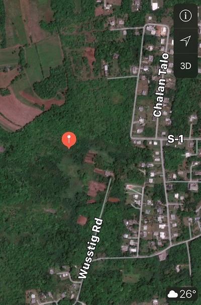 Terreno / Lote por un Alquiler en Wusstig Road Wusstig Road Dededo, Grupo Guam 96929