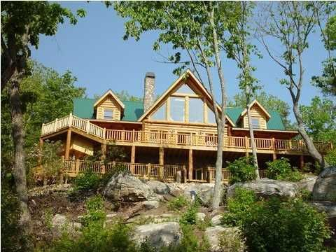 Photo of home for sale at 17 Southern Comfort, Cloudland GA
