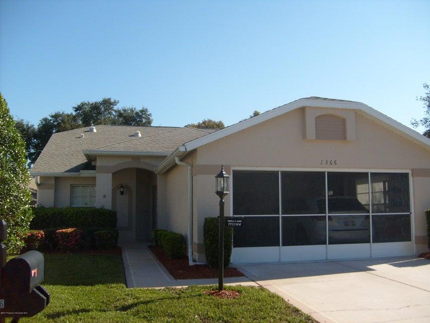 1366 CRESCENT OAKS  CT 2, Spring Hill, FL 34606
