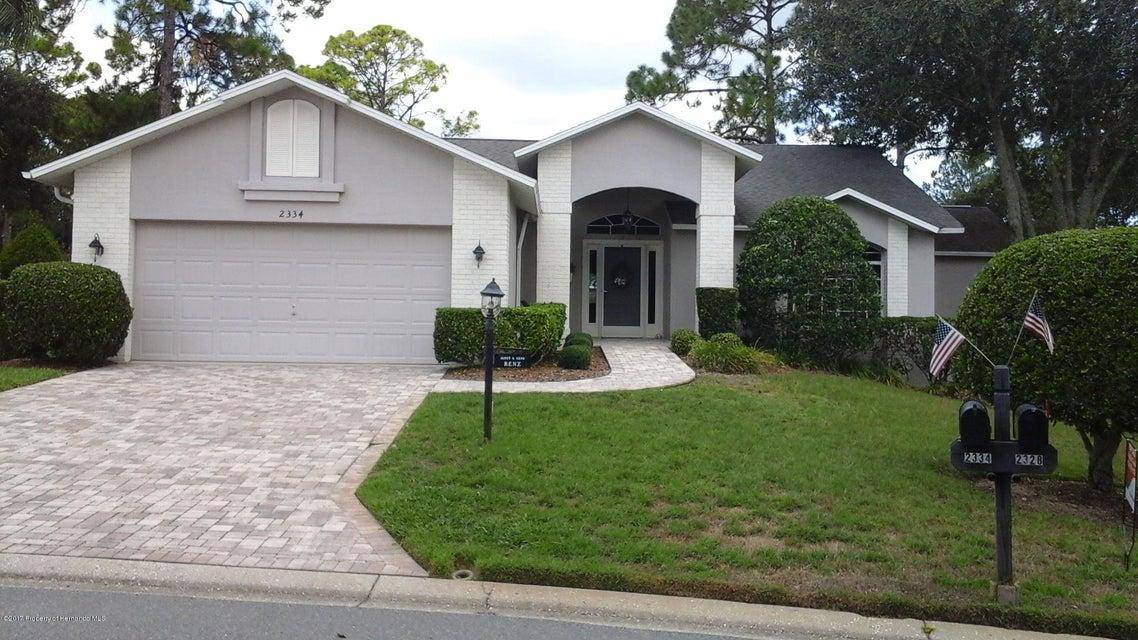2334 FAIRSKIES Drive, Spring Hill, FL 34606