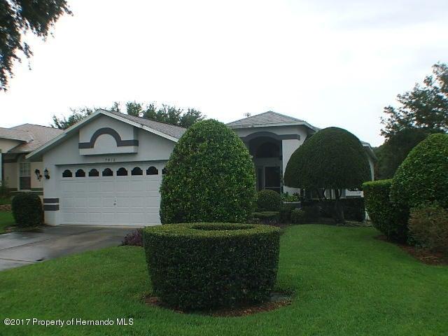 7418 Bridgewater Lane, Spring Hill, FL 34606