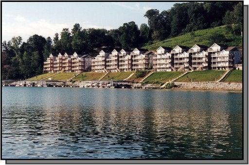 Enjoy living on the lake at Deerfield