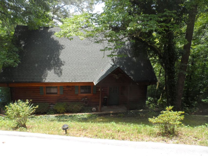 Rustic Log Cabin For Sale At Cove Pointe Norris Lake Tn
