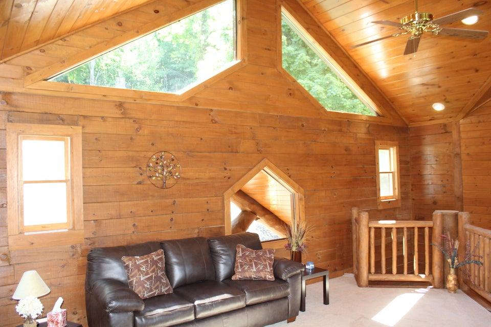 Custom lake house at Overlook Bay
