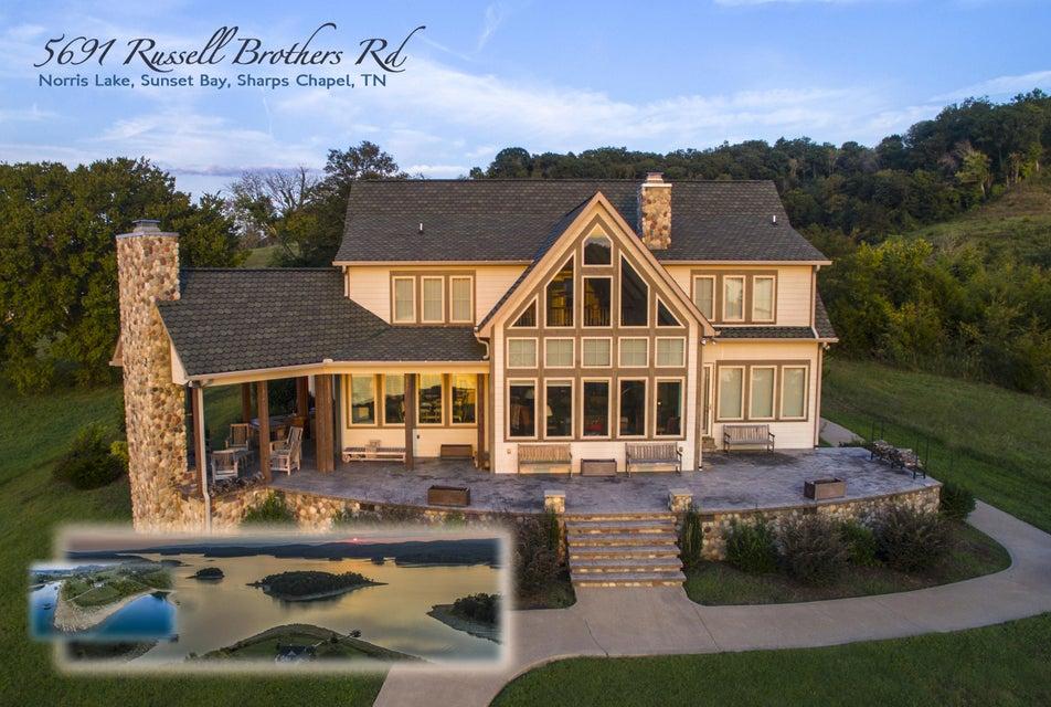Casa Unifamiliar por un Venta en 5691 Russell Brothers Road Sharps Chapel, Tennessee 37866 Estados Unidos