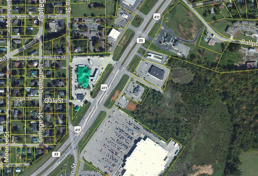 Commercial pour l Vente à Highway 411 Madisonville, Tennessee 37354 États-Unis