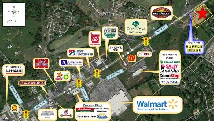 Land for Sale at 2115 S Highway 411 2115 S Highway 411 Maryville, Tennessee 37801 United States
