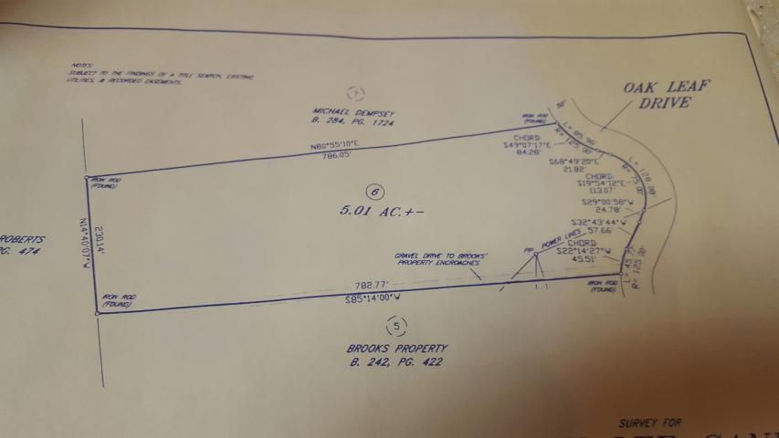 Земля для того Продажа на 206 Oak Leaf Lane Rutledge, Теннесси 37861 Соединенные Штаты