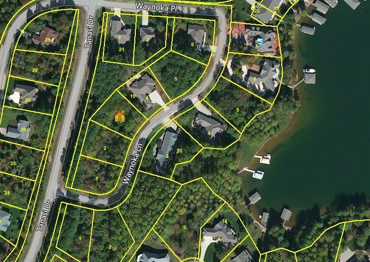 Земля для того Продажа на 105 Waynoka Lane 105 Waynoka Lane Loudon, Теннесси 37774 Соединенные Штаты