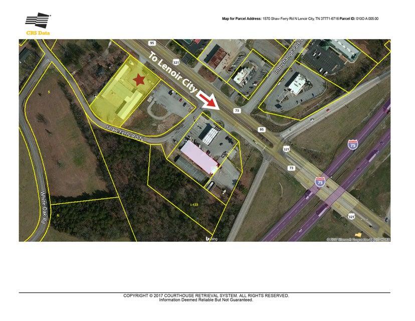 Commercial pour l Vente à 1216 N Highway 321 1216 N Highway 321 Lenoir City, Tennessee 37771 États-Unis