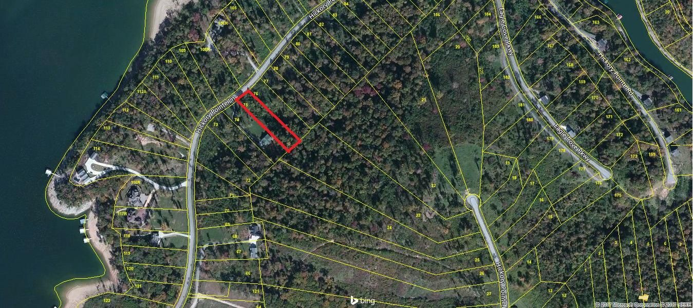 Land for Sale at Lot 75 Hickory Pointe Lane Maynardville, Tennessee 37807 United States