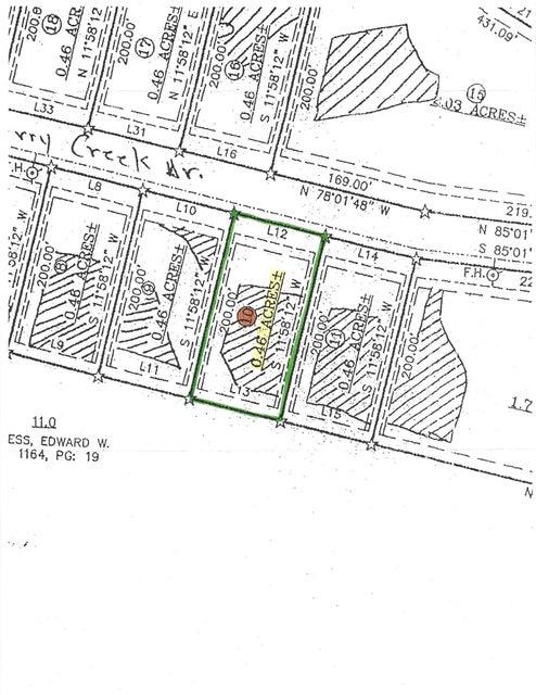 Terrain pour l Vente à Perry Creek Drive Perry Creek Drive Crossville, Tennessee 38572 États-Unis
