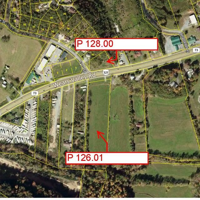 Commercial for Sale at P 126.01 Wears Valley Road Pigeon Forge, Tennessee 37863 United States