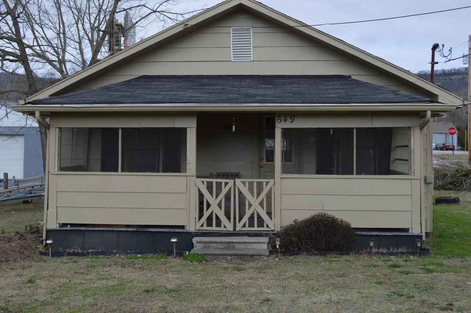 Commercial for Sale at 649 Elm Avenue 649 Elm Avenue Rockwood, Tennessee 37854 United States