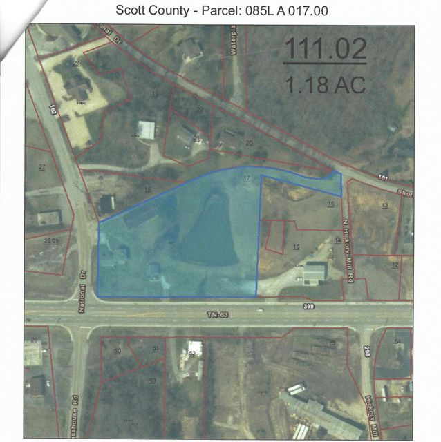 Commercial for Sale at 126 National Drive Helenwood, Tennessee 37755 United States
